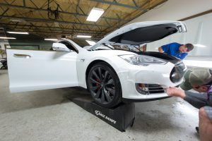 Paint Protection Film for Tesla P90