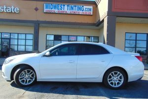 2015 Chevy Malibu Select 20% and 38% Tint