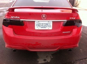 Taillights with Charcoal Film