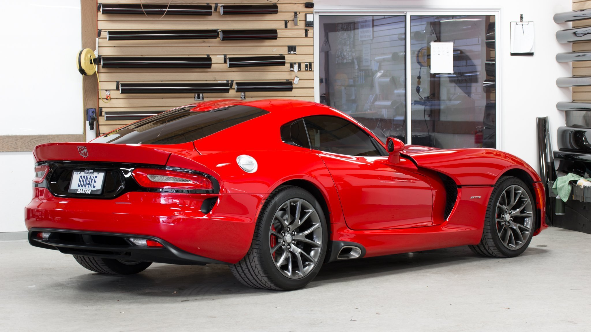 Quality window tint for a Dodge Viper